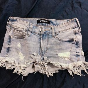 Express shorts. Only worn once.